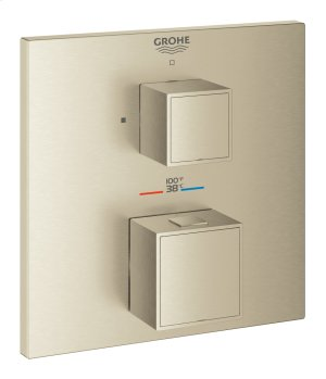 Grohtherm Cube Single Function 2-Handle Thermostatic Trim Product Image