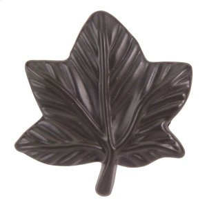 Vineyard Leaf Knob 2 Inch - Aged Bronze Product Image
