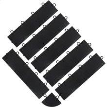 Black Edge Trim - Female (6-Pack + 1 Corner)