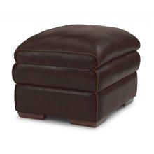 Penthouse Leather Ottoman