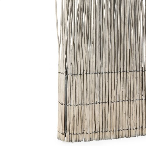 "Willow Twig Panel 69"" - Seaside Grey"