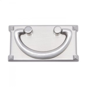 Rectangular Plated Bail Pull Product Image