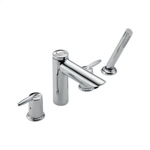 Chrome Roman Tub with Hand Shower Trim Product Image
