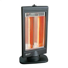CZHTV9 Halogen Electric Flat Panel Halogen Heater, Black