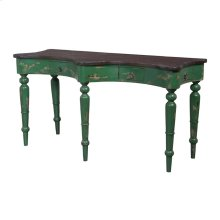 EUROPEAN FARMHOUSE CAMELBACK DESK