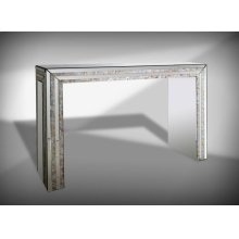 Modrest Mirabelle Mirrored Console Table