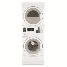 NEW - Energy Efficient Electric Stack Washer/Dryer Saves Money and Builds Profits!