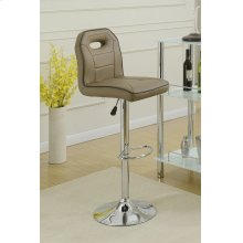 F1628 / Cat.19.p63- ADJUSTABLE BARSTOOL BRWN