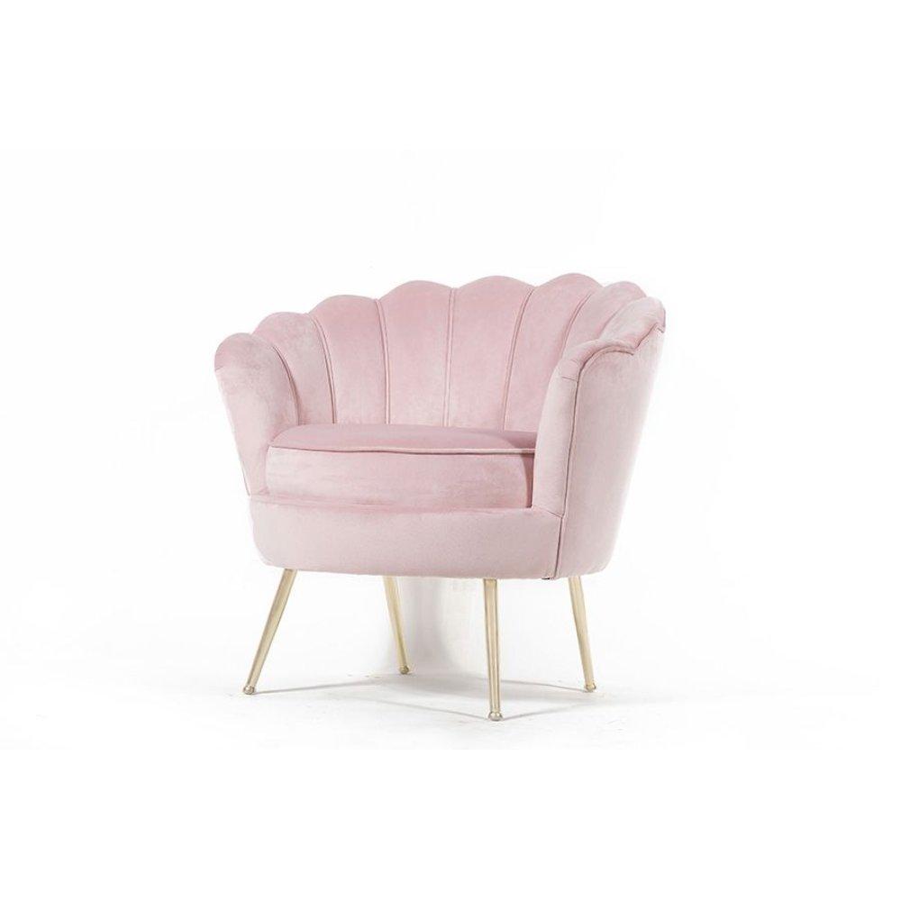 Fleur Pink Accent Chair, AC1833