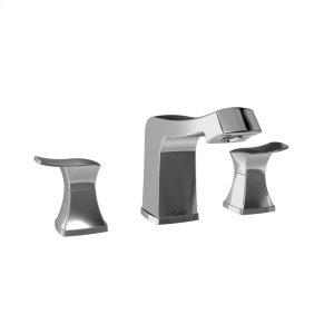 Widespread bathroom sink faucet with drain - Chrome Product Image