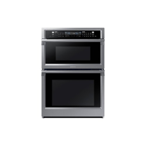 """30"""" Microwave Combination Wall Oven in Stainless Steel"""
