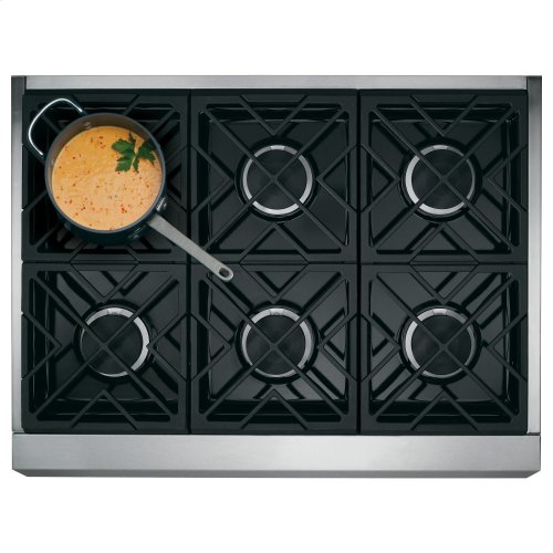 """Café 36"""" All-Gas Professional Range with 6 Burners (Natural Gas)"""