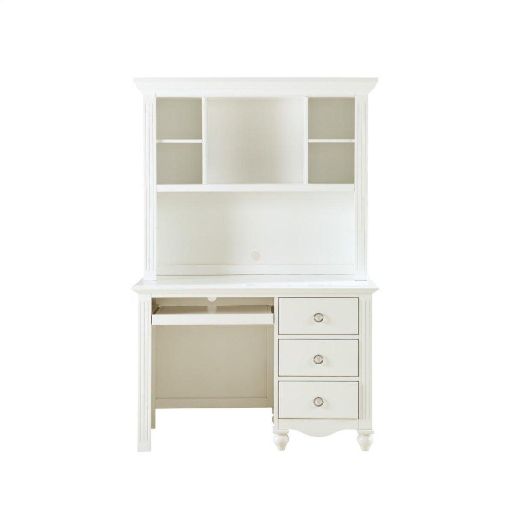 Writing Hutch/Desk Set, White