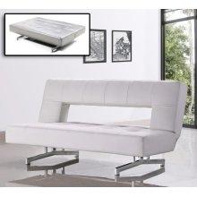 Divani Casa Wilshire - Modern Fold-Out Leatherette Sofa Bed