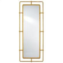 Metro Gold Rectangular Mirror