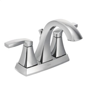 Voss chrome two-handle bathroom faucet