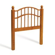 Double Rail Headboard - Honey Pine Product Image