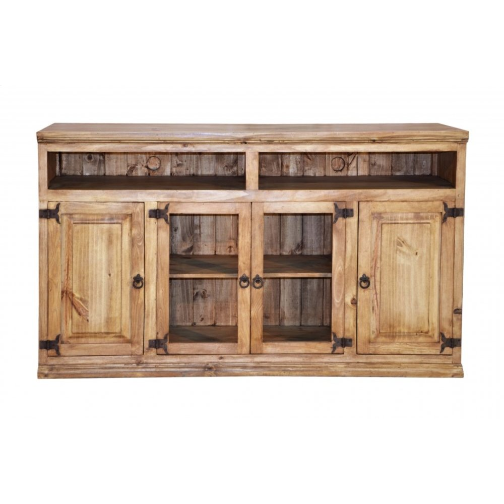 Traditional Sierra TV Console