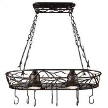 Twigs - 2 Light Pot Rack
