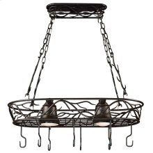 Twigs - 2 Light Pot Rack