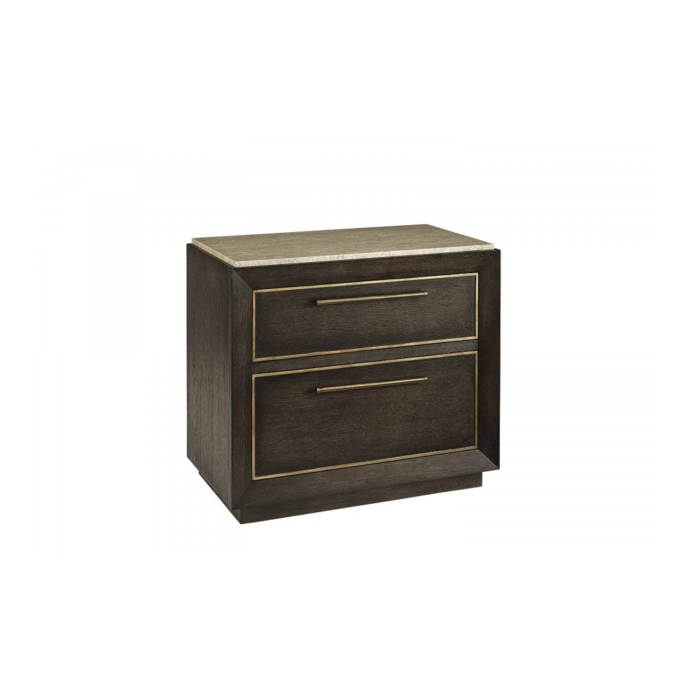 WoodWright Lloyd Brown Wright Nightstand
