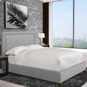 Cody Mineral (Grey) Queen Bed 5/0 Product Image