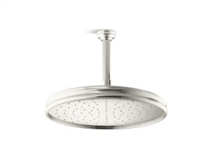 Air-Induction Large Traditional Rain Showerhead - Nickel Silver Product Image