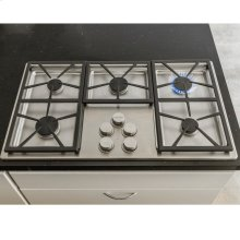"Distinctive 36"" Gas Cooktop,, in Black with Liquid Propane"
