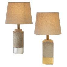 (130992) 1 ea Lamp with Bulb. (2 pc. assortment)