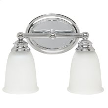 2 Light Vanity Fixture
