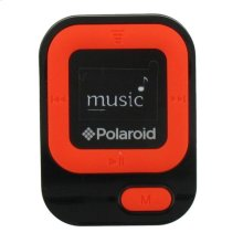 Polaroid 4GB MP3 Music Player with LCD Display, Orange - PMP85OR