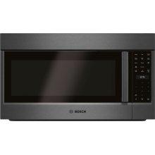 800 Series Over-The-Range Microwave 30'' Black stainless steel, Door Hinge: Left