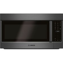 800 Series Over-The-Range Microwave 30'' Black stainless steel, Door Hinge: Left