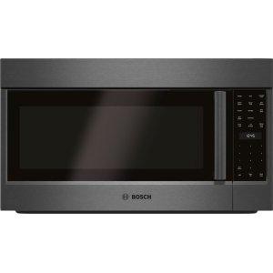 800 Series Over-The-Range Microwave 30'' Black Stainless Steel, Left SideOpening Door HMV8044U Product Image