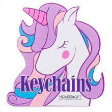 Unicorn Keychains Sign