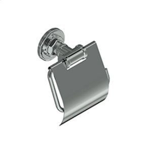 Pombo Industrial Toilet Paper Holder With Lid Product Image