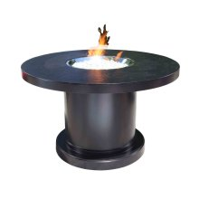 """Outdoor Fire Pit : Venice 48"""" Dining"""