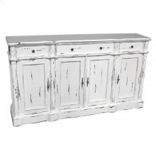 White 4-Door Sideboard