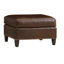 Chartwell Ottoman (Leather)