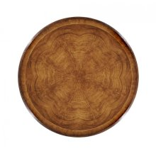 "32"" Crotch walnut lazy susan"