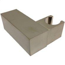 SQU Shower Outlet Adjustable Hand Shower Holder - Brushed Nickel