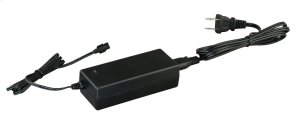 Instalux® Low Profile Under Cabinet 36W Power Adapter Black Product Image