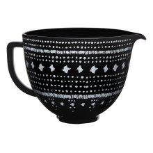 5 Quart Tapestry Ceramic Bowl