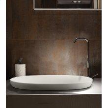 Elena semi-recessed sink