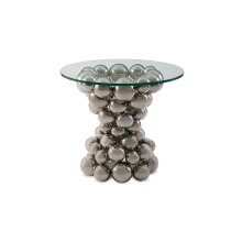 Frizzante Side Table, Stainless Steel