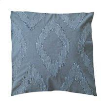 """Cadence Tonal Diamond Square Pillow (22"""" x 22"""") - Graphite"""