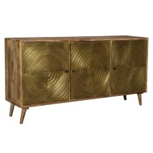 Bengal Manor Circle Door Sideboard