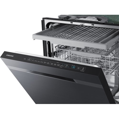 StormWash 48 dBA Dishwasher in Black Stainless Steel