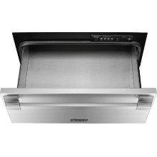 """Heritage 24"""" Pro Warming Drawer, Silver Stainless Steel"""