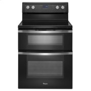6.7 Total cu. ft. Double Oven Electric Range with True Convection Cooking Product Image